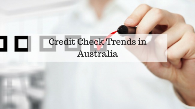 Credit Check Trends in Australia